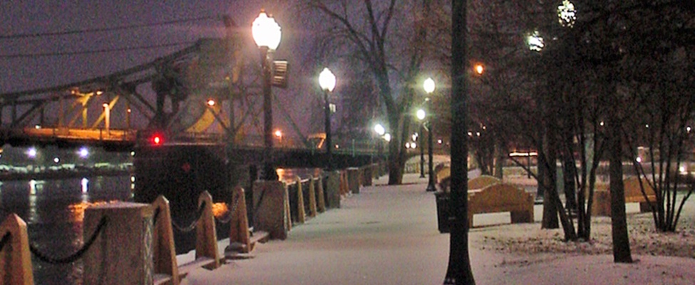 Winter Riverwalk